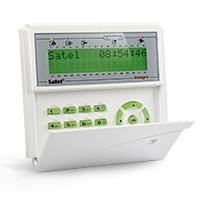 SATEL Manipulator LCD z czytnikiem kart zbliżeniowych typ I, niebieskie podświetlenie (INT-KLCDR-BL)
