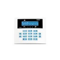 SATEL Manipulator LCD typ S niebieskie podświetlenie, do centrali CA-10 (CA-10 BLUE-S)