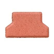 BRUK Kostka brukowa BEHATON grubość 6 cm połówka, kolor czerwony