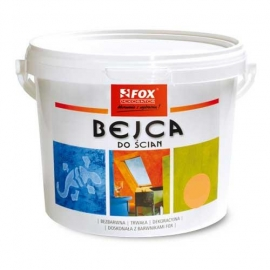 FOX DEKORATOR Bejca do ścian, satyna, 3 l