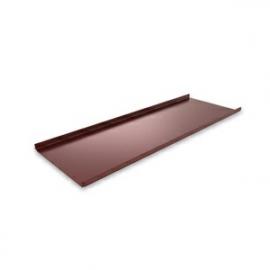 RUUKKI Blacha na rąbek stojący Classic, powłoka Purex, kolor czekoladowobrązowy