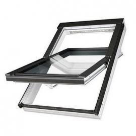 FAKRO Okno dachowe, obrotowe o podwyższonej odporności na wilgoć PTP U3, białe 114x118 cm
