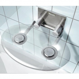 RAVAK Siedzisko prysznicowe OVO P clear, B8F0000000