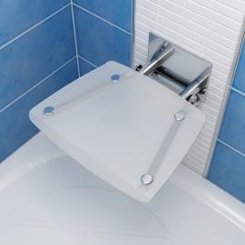RAVAK Siedzisko prysznicowe OVO B opal, BEF0000016