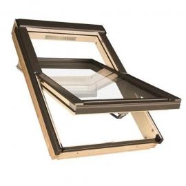 FAKRO Okno dachowe, drewniane, obrotowe STANDARD FTS-V U2 55x98 cm