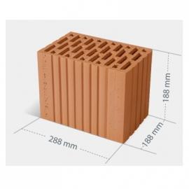 CERPOL Pustak ceramiczny MAX, wymiary 288 mm x 188 mm x 188 mm