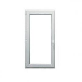 DRUTEX Okno jednoskrzydłowe uchylno-rozwierane PCV IGLO 5 CLASSIC O47, wymiary 1635 x 865 cm, kolor biały