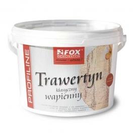 FOX DEKORATOR Trawertyn Drobnoziarnisty, tynk wapienny, worek 25 kg