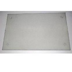 ITBUD Płyta ścienna dekoracyjna z betonu architektonicznego GRC 120/60/1,5; Gładka; z 4 otworami do mocowania