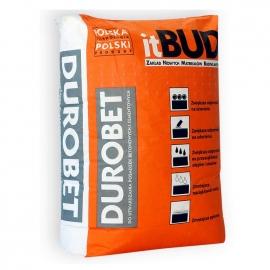 ITBUD Preparat proszkowy do powierzchniowego utwardzania posadzek betonowych Durobet, kolor czerwony, opakowanie 25 kg