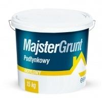 MAJSTERPOL Grunt akrylowy podtynkowy z kwarcem w kolorze 10 kg