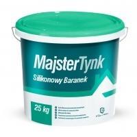 MAJSTERPOL MajsterTynk silikonowy baranek,kolor biały, grubość 1,5 mm 25 kg