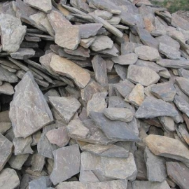 Łupek szarogłazowy, kamień murowy, płytowy mniejszy, łupany, sortowany, grubość do 6 cm, opak. 1 tona (worek big-bag)